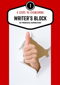 8 steps to overcoming writers block tag