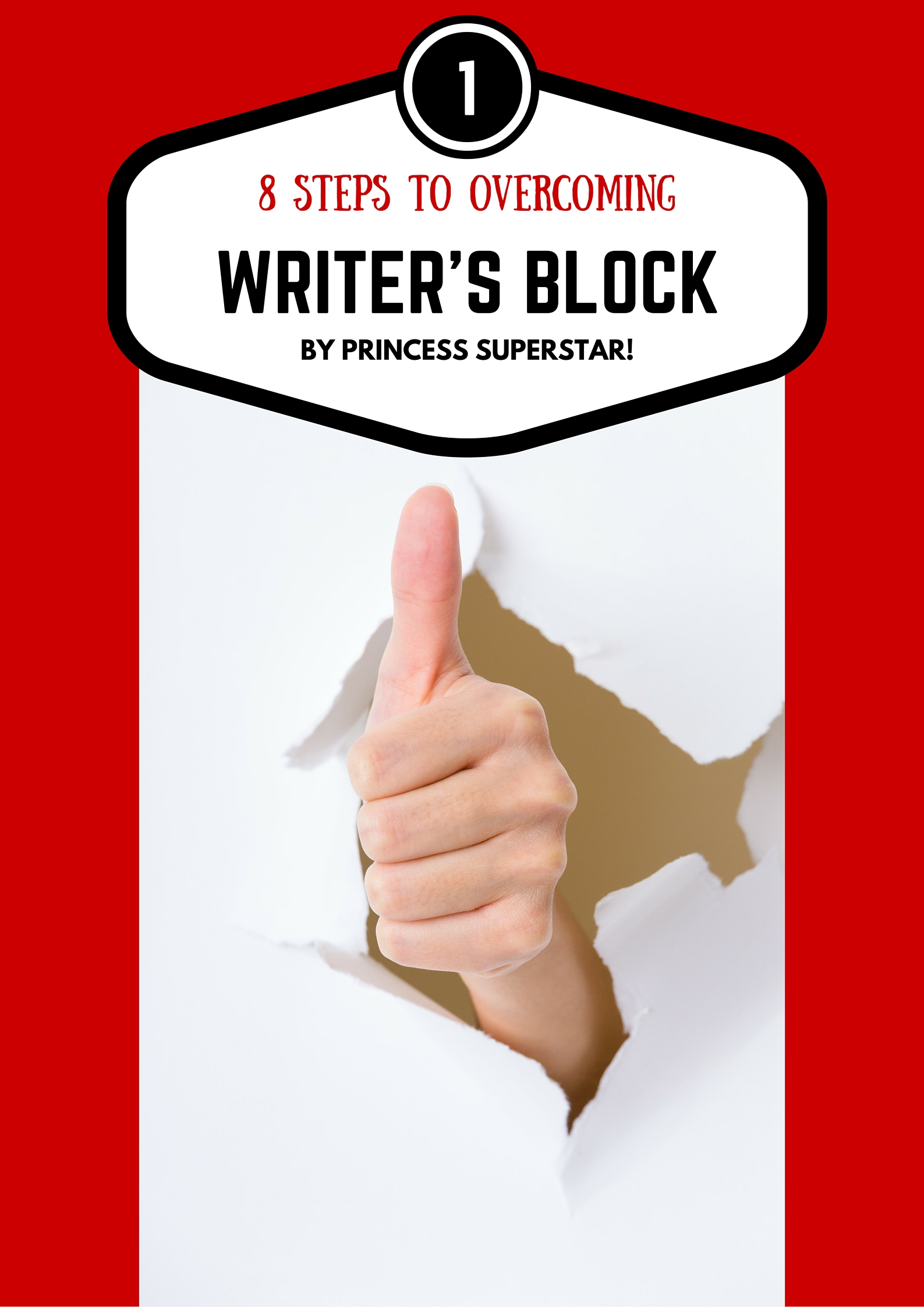 Eight Steps to overcoming Writer's Block Image